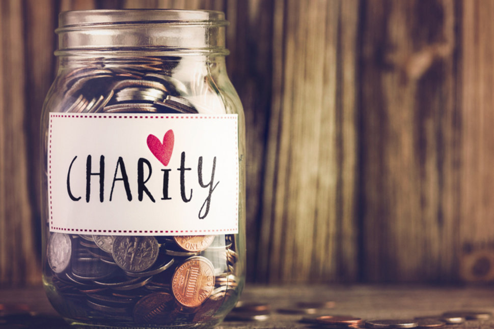 False Charity vs. Real Charity